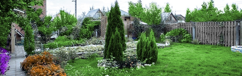 Ландшафтный дизайн Greenworks