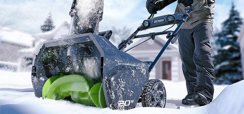 Снегоуборщики Greenworks 40V