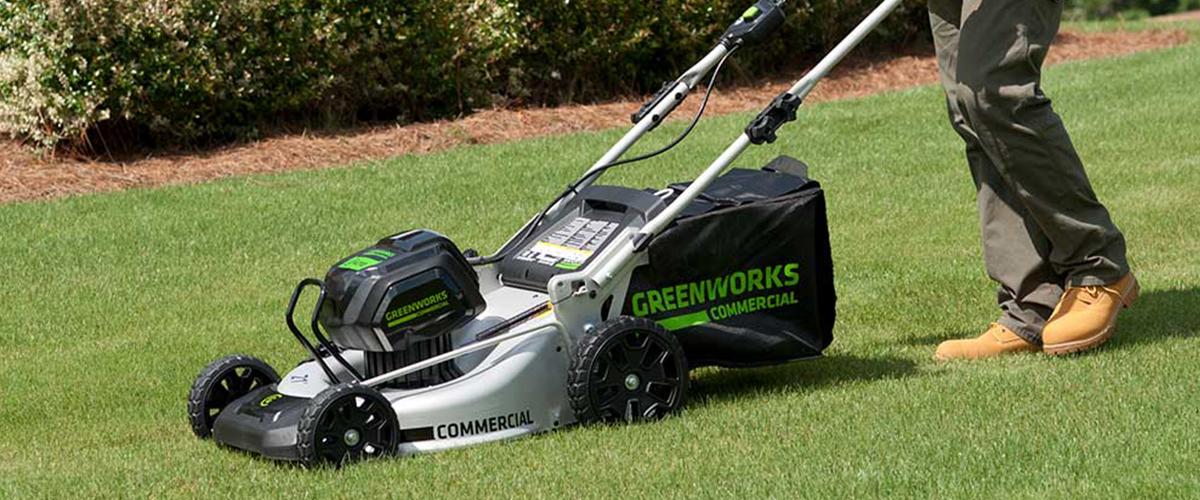 Газонокосилки Greenworks 82V Commercial